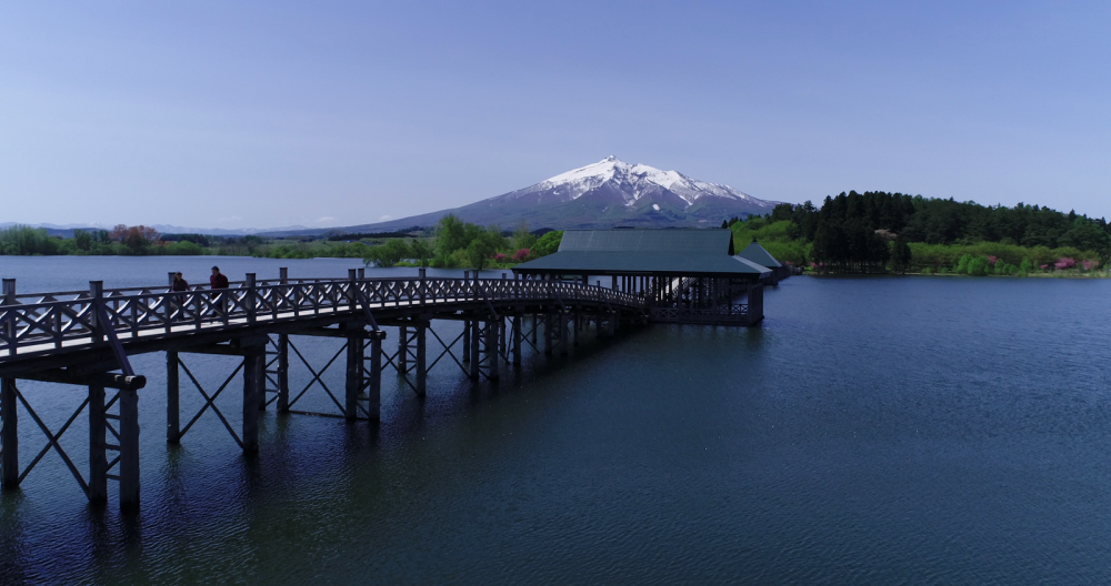 Springtime at Mt Iwaki, Aomori